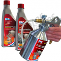 Diesel particulate filter cleaning set